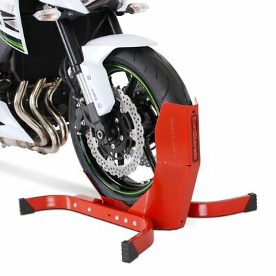 Wheel Chock CPR Honda Black Widow 750 Front Paddock Stand