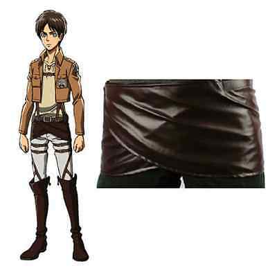 Attack on Titan Cosplay Shingeki no Kyojin Leather skirt hookshot belt Halloween