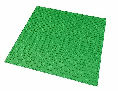 """LEGO Compatible Green Baseplate (10x10"""") 32x32 Studs New Base Plate #3811"""