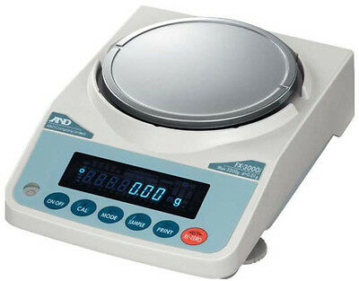 A&D FX-3000i Precision Lab Balance, Compact Scale 3200gX0.01g,New,5 year warr