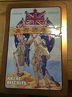 Anzac Limited Edition Biscuit Tin The Rsl And Rnzrsa Story