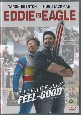 EDDIE THE EAGLE /  Taron Egerton, Hugh Jackman <Brand New DVD> Region 3 **