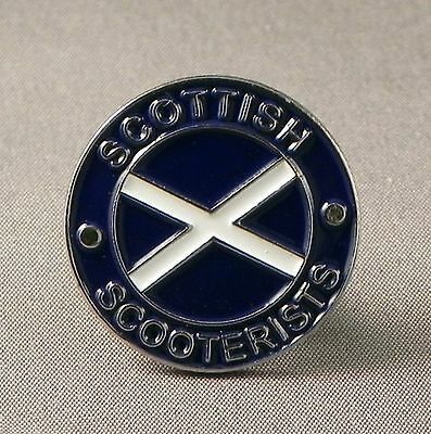 Scottish Scooterists Pin  Badge