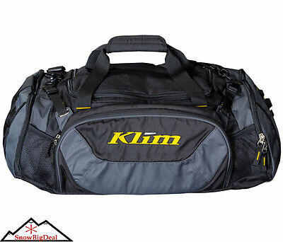 Klim Deluxe Duffel Bag Gear Storage Pack Snowmobile Clothing Dufell Duffle