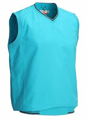Glenmuir Golf Storm Bloc Wind Vest Sleeveless Pullover M L XL RRP£49.99