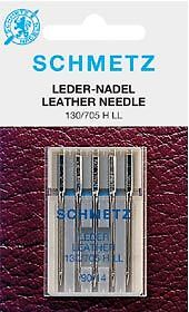 Sewing Machine Needle - Schmetz Leather - Pack 5