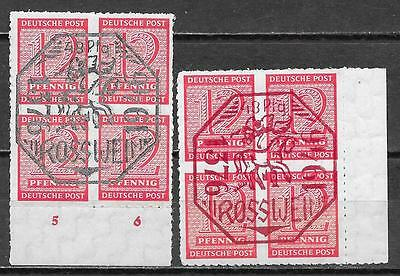 Rosswein stamps 1946 MI 1-2  MLH  VF