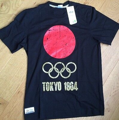 Adidas Team GB T-Shirt Japan UK Size Small Museum Olympic Tokyo 1964  (17)