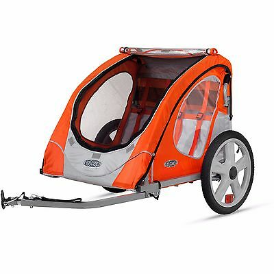 InStep Robin Bike Trailer Carrier New Bicycle Cart 2 Seater With Zipper