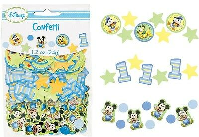 MICKEY MOUSE 1st Birthday ~ (3) Confetti Bags ~ Birthday Party Decorations