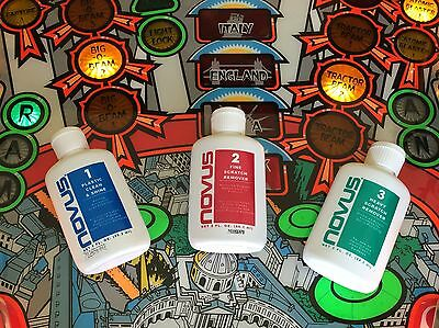Novus Plastic Polish 1 / 2 / 3  59ml Bottles - Choose Single Bottle or All Three