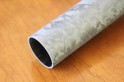"Carbon Fiber Tube Filament Wound  1.84""(46.7mm) x 2.00""(50.8mm) x 11.2""(284mm)"