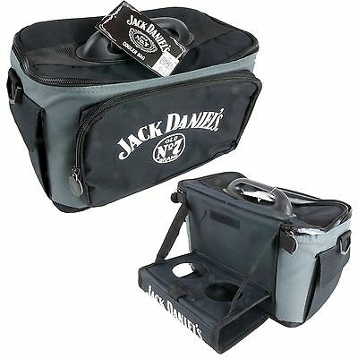 JACK DANIELS LUNCH COOLER Built-in tray - Man Cave Pool Room