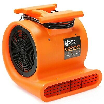 Brand New CFM PRO Air Mover & Carpet Dryer Blower Fan - 1 HP - 4,200 Series