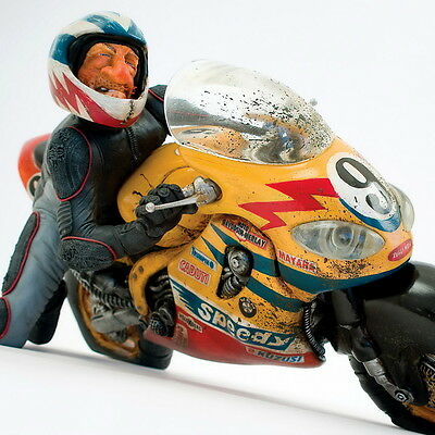 "GUILLERMO FORCHINO - Comic Art Skulptur - ""SPEEDY"" Limited Edition FO85057"