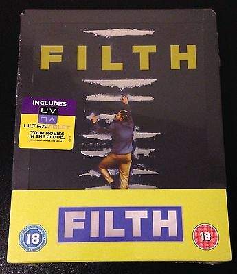 FILTH Blu-Ray SteelBook Zavvi UK Exclusive Limited Ed. Region B. Sold Out, Rare!