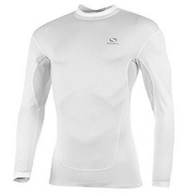 Brand New Sondico White Kids Youth Base Layer Core Long Sleeve Top Sport