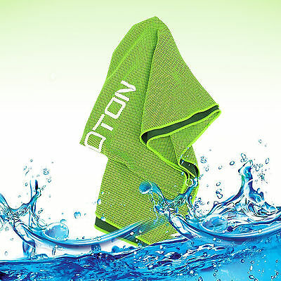 Cooling Towel OMOTON High-Tech Ice Fabric New Technology Sports Gym Fitness
