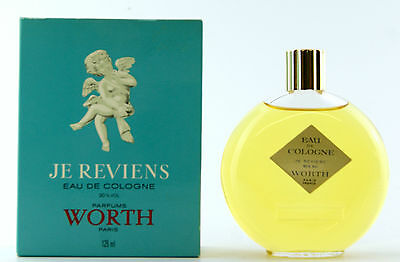 (Grundpreis 111,92€/100Ml) Vintage Worth Je Reviens 125Ml Eau De Cologne Splash