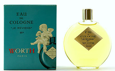 (Grundpreis 133,17€/100Ml) Vintage Worth Je Reviens 60Ml Eau De Cologne Splash