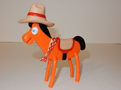 The Incredible Adventures Of Gumby ~ Superflex Cowboy Pokey Poseable Figure