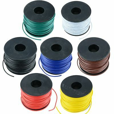 1mm Copper Stranded Automotive Wire Cable 32/0.2mm 50M Reel