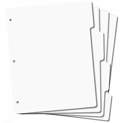 4 x EZMount Full Size Tabbed Cling Stamp Storage Panels Binder Refills