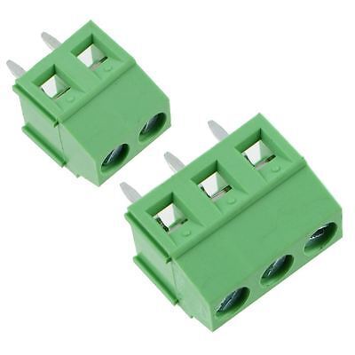 3.81mm PCB Terminal Block 2 or 3 Way 10A