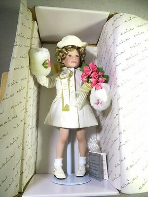 Nib Shirley Temple Doll The Danbury Mint Is The Littlest Grand Marshall 14""