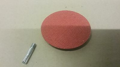 "75mm Backing Pad  for 3"" Hook & Loop discs.  Hookit Sanding  6mm Shank for Drill"