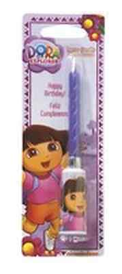 New Dora The Explorer Sound Cake Candle (1)