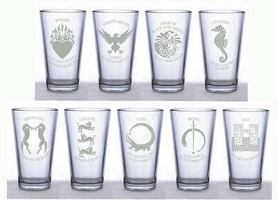 Game of Thrones  ~Choice of 4 Pint Glasses~