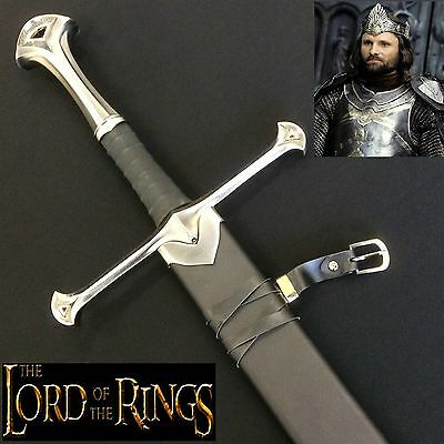 Lord of the Rings Aragorn Anduril the Sword of King Elessar & Scabbard