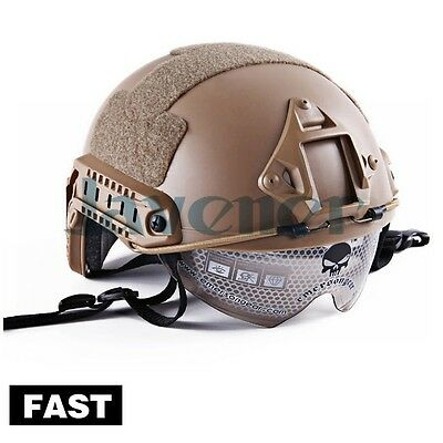 Emerson FAST Helmet With Protective Goggle Military Tactical Helmet for airsoft