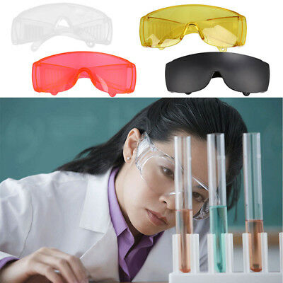 1pc Plastic Lab Work Spectacles Safety Glasses Goggles Medical Eye Protection AU