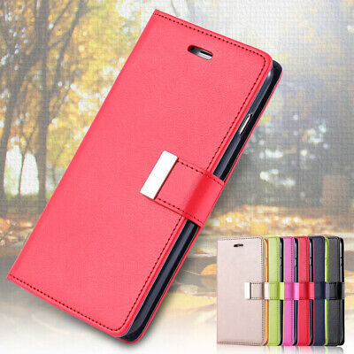 Genuine Real Leather Flip Wallet Case Cover For Apple iphone 6 Plus 6S Plus