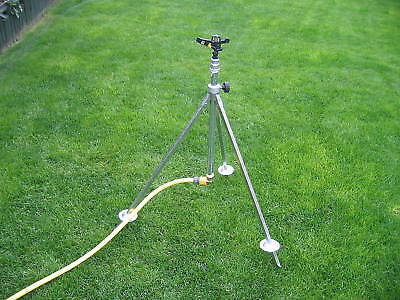 Irrigation Tripod Complete with Full/Part Circle Sprinkler and Snap Fitting