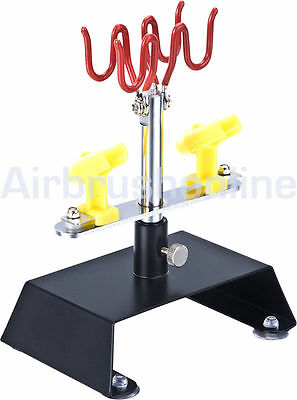 Tabletop Airbrush Holder For 4 Airbrushes