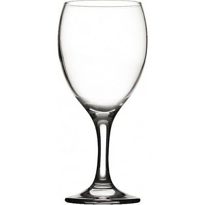 Imperial Wine Glass 12oz - LCE - Lined and Stamped at 125 175 250ml - Box of 12