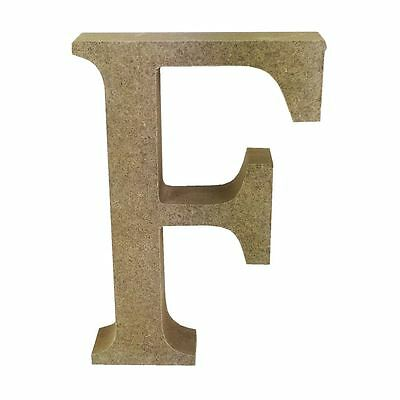 Dovecraft Wooden MDF decorative Embelishment Letter Collection Letter - F