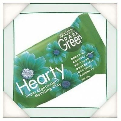 Katy Sue Hearty Soft Green Air Drying Modeling Paper Craft Clay - 50g Pack