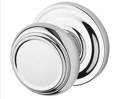 Baldwin Traditional Privacy Knob Set - Split Finishes Available