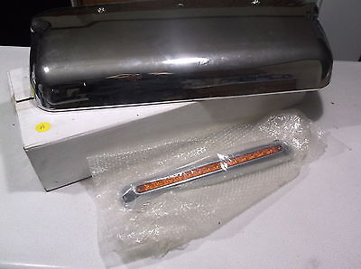 """United Pacific 42060 Freightliner Driver Mirror Cover w/ 14 LED 12"""" CRPLFL"""