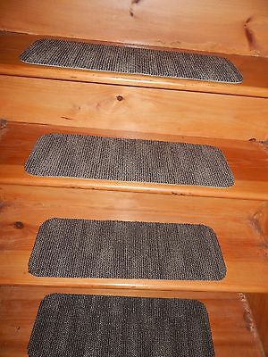 """13 STEP  Indoor Stair Treads Staircase 8""""x 24"""" Rug Carpet"""