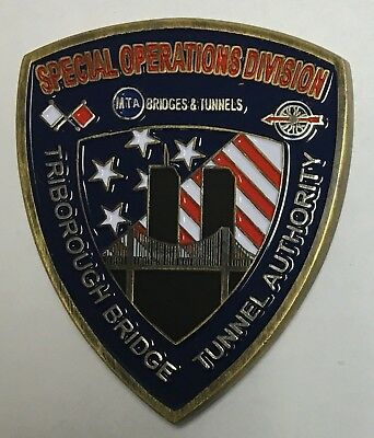 Triborough Bridge and Tunnel Authority SOD Special Operations Division Shield