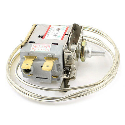 AC 250V 6A 2 Broches Bornier Refrigerateur Congelateur thermostat WT