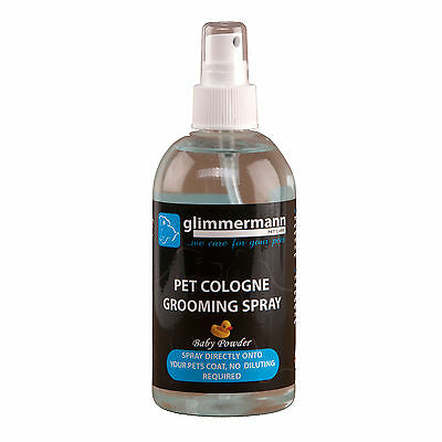 Pet Cologne Grooming Spray Baby Powder Perfume Fragrance 300ml Glimmermann