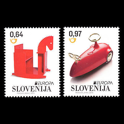 """Slovenia 2015 - EUROPA Stamps """"Old Toys"""" - MNH"""