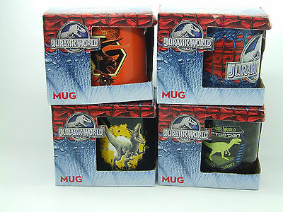 Jurassic World Mug Cup 4 Different Styles Choose Yours On Purchase Boxed
