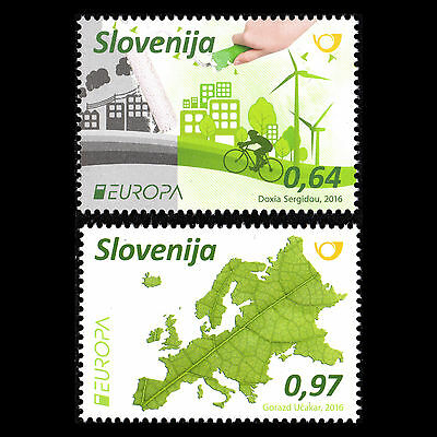 "Slovenia 2016 - EUROPA Stamps ""Think Green"" - MNH"
